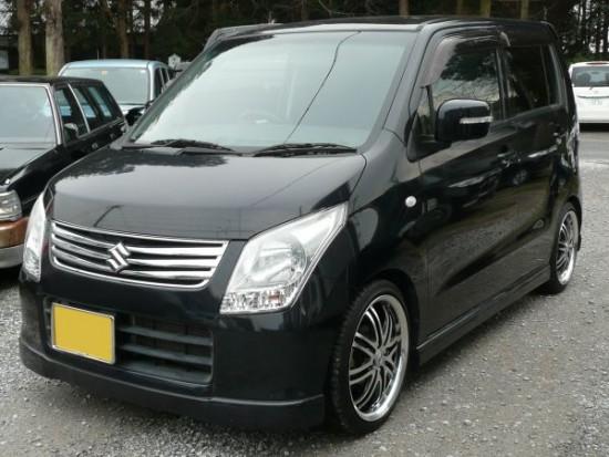 札幌にて軽四自動車のワゴンR FXリミテッドを車買取!