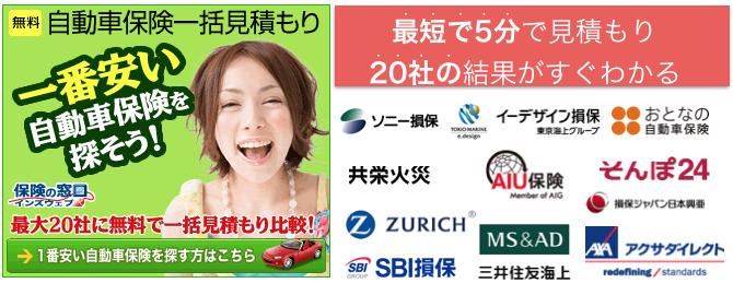 自動車保険保険の窓口インズウェブ